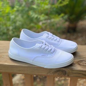 Vans Authentic Skate Shoe White 8